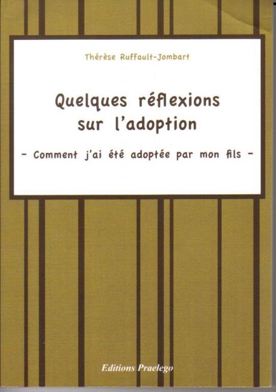 Quelques réflexions sur l'adoption