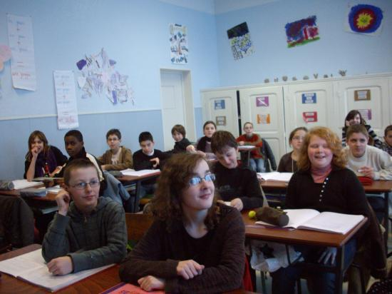 Des élèves attentifs